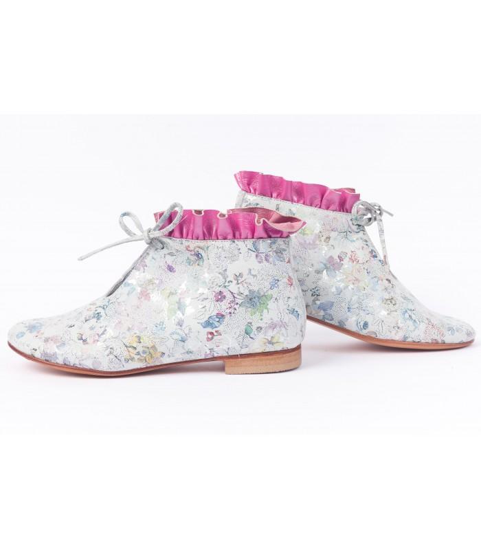 Caroline Fleurs multicolores